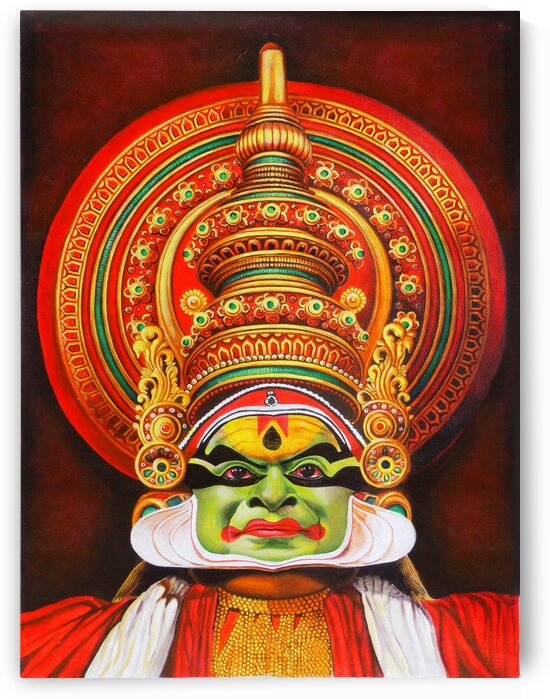 KATHAKALI THE KERALA DANCE ART by ASP ARTS