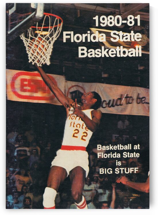 1980 Florida State Basketball by Row One Brand