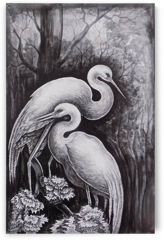 THE CRANE PAINTING by ASP ARTS
