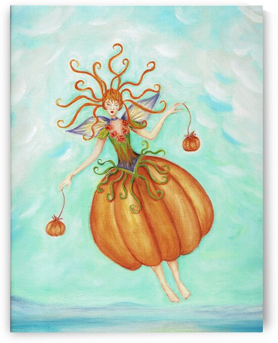 The Pumpkin Lady by Norma Roman Creations