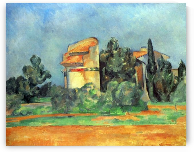 Pigeonry in Bellvue by Cezanne by Cezanne