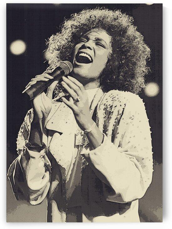 Whitney_Houston_16 by Adhi Budi
