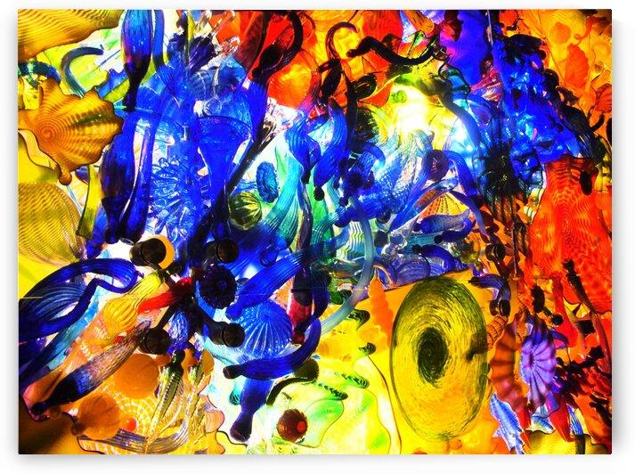 Glass Fireworks by Angel