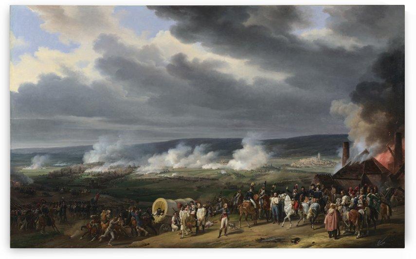 Bataille de Jemmapes by Antoine Charles Horace Vernet