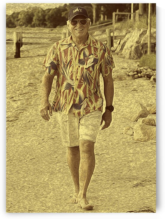 Jimmy Buffett Retro Vintage 6 by RANGGA OZI