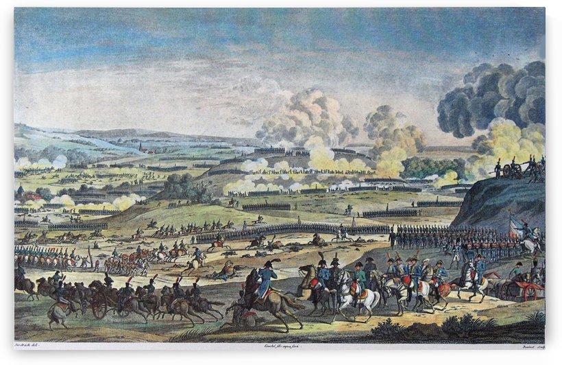 Le bataille de Jena by Antoine Charles Horace Vernet
