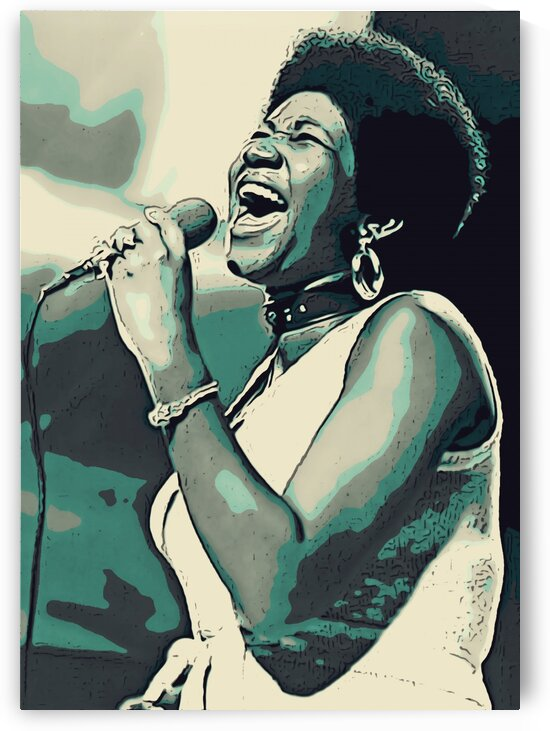 Aretha_Franklin_1 by Adhi Budi