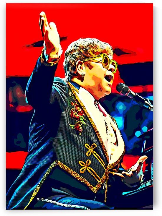 Elton_John_10 by Adhi Budi