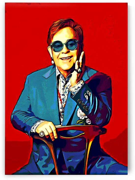 Elton_John_16 by Adhi Budi