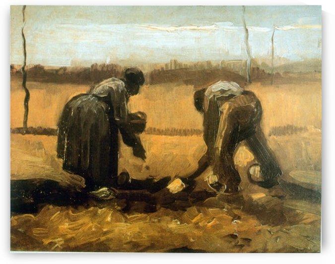 Planting by Van Gogh by Van Gogh