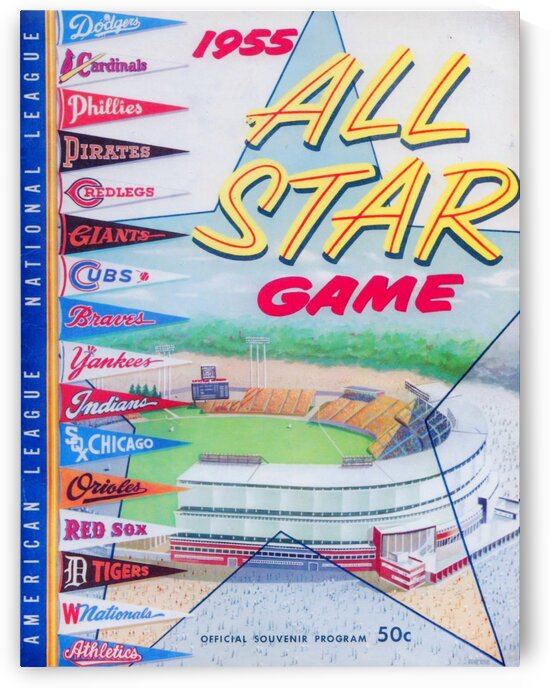 1955 Major League All-Star Game by Row One Brand