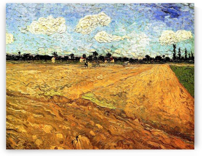 Ploughed Field by Van Gogh by Van Gogh
