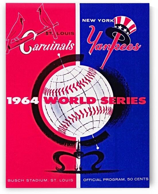 1964  World Series Program by Row One Brand