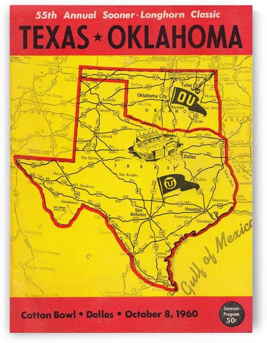 1960 Texas vs. Oklahoma by Row One Brand