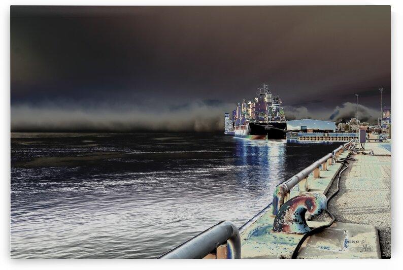 Quai en eveil- Collection EXC-S Art by Sylvain Bergeron Photographies