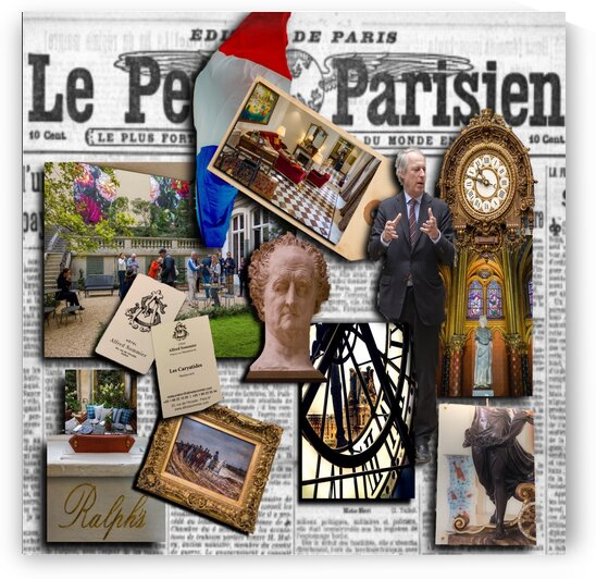 Paris at Hotel  Alfred Sommier by Nancy Calvert