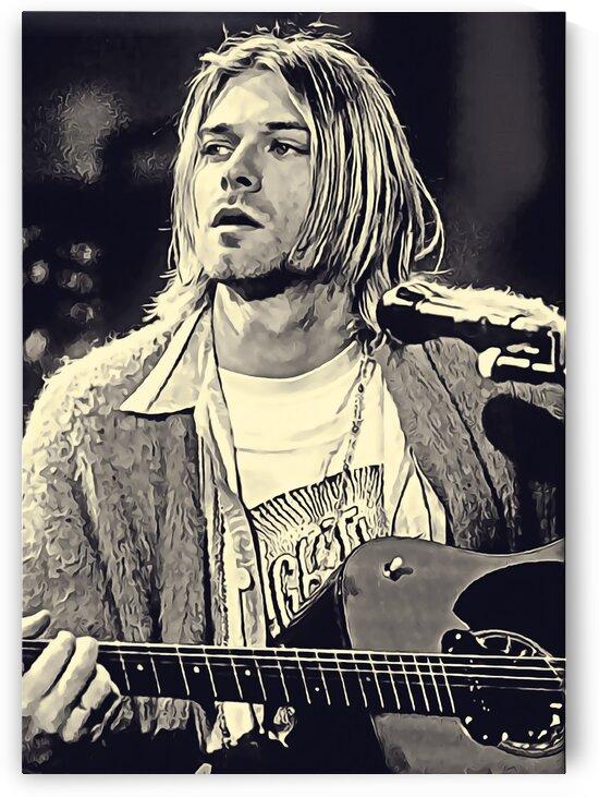 Kurt_Cobain_40 by Adhi Budi