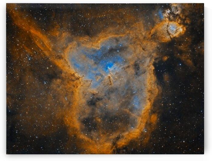 Heart Nebula by Bradley Craig