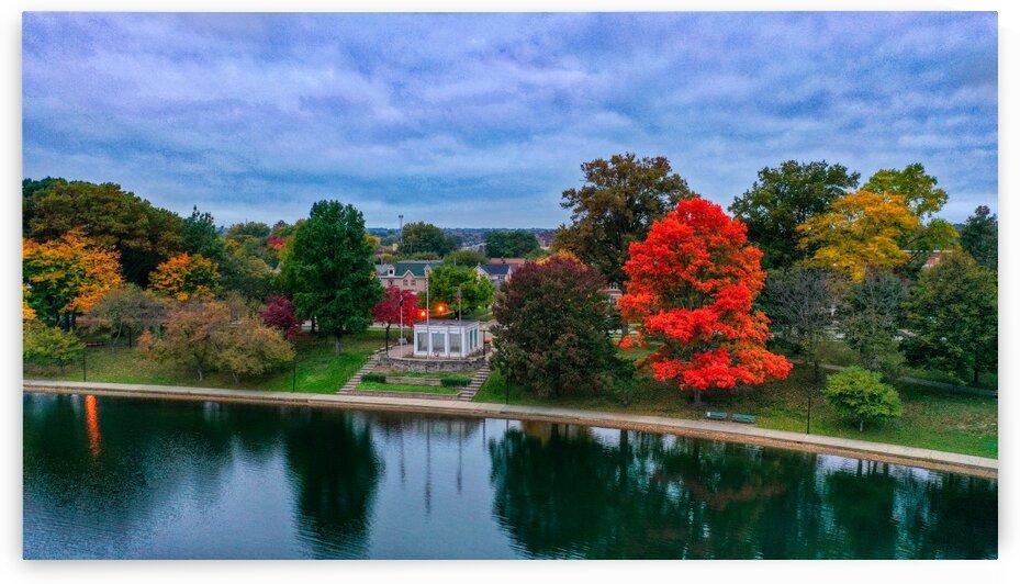 Barberton Veterans Memorial by Barberton Drone