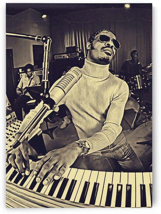 Stevie_Wonder_19 by Adhi Budi