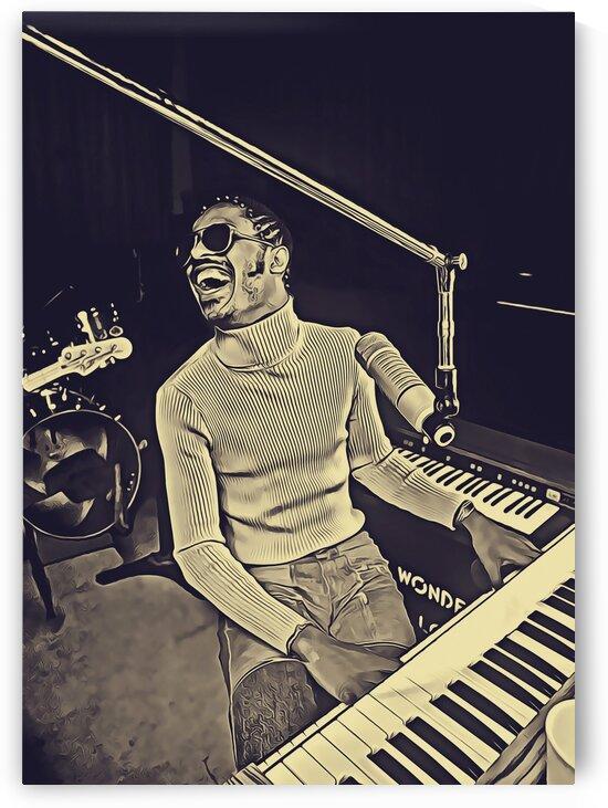 Stevie_Wonder_23 by Adhi Budi