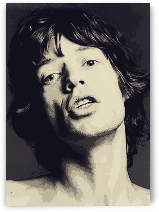 Mick_Jagger_14 by Adhi Budi