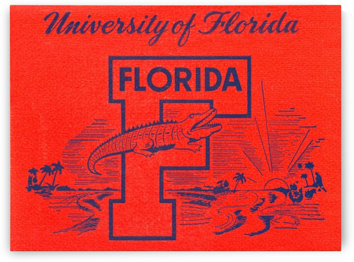 1950s University of Florida by Row One Brand