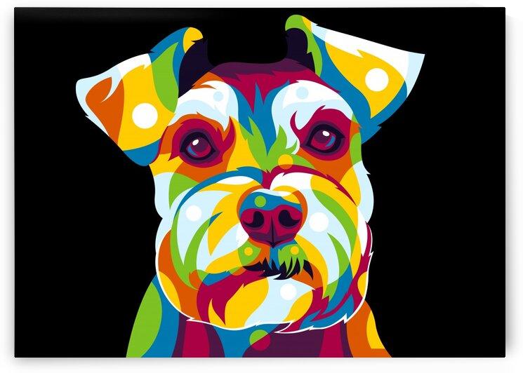 Shih Tzu Dog Portrait by wpaprint