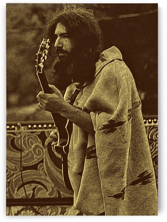 Jerry Garcia Retro Vintage 11 by RANGGA OZI