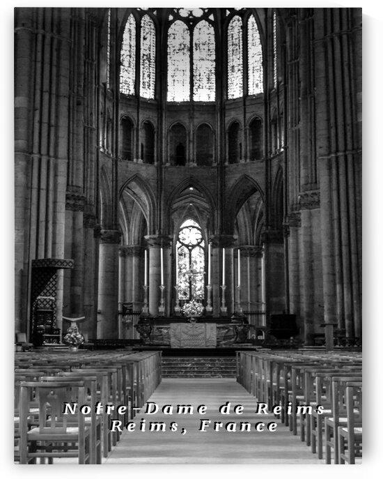 Notre-Dame de Reims by Nancy Calvert