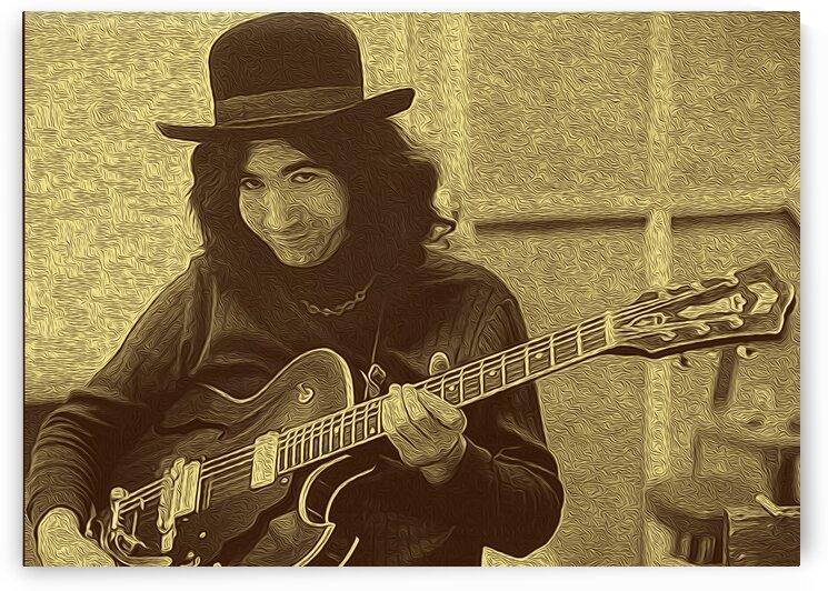 Jerry Garcia Retro Vintage 25 by RANGGA OZI