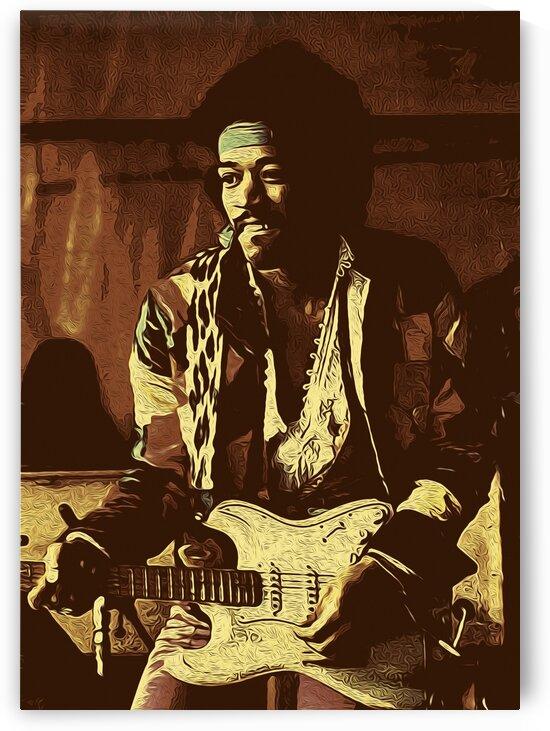 The Jimi Hendrix Experience Vintage Moments 7 by RANGGA OZI
