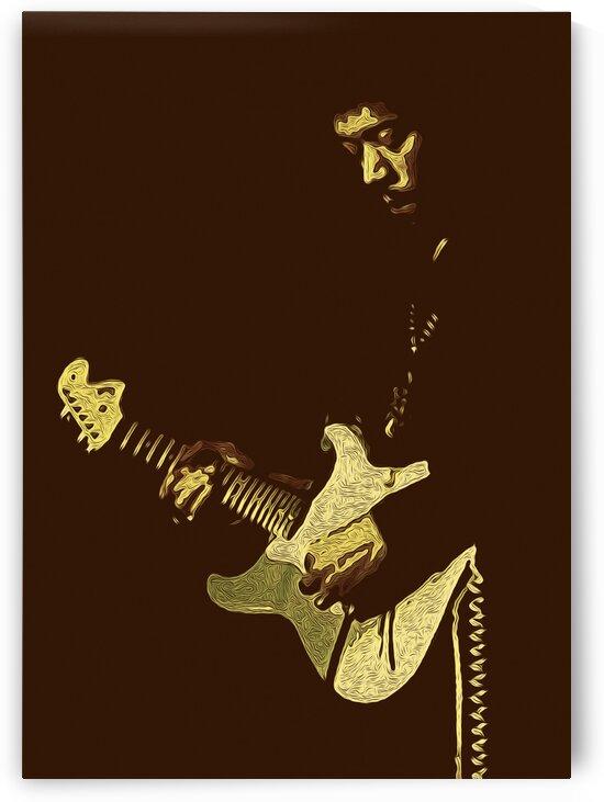 The Jimi Hendrix Experience Vintage Moments 1 by RANGGA OZI
