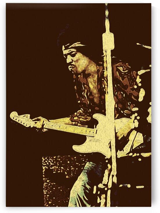The Jimi Hendrix Experience Vintage Moments 4 by RANGGA OZI