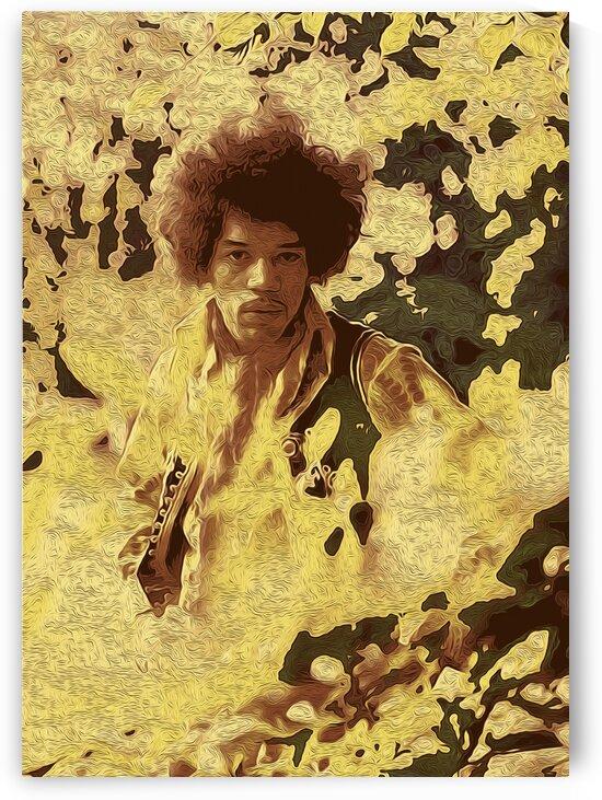 The Jimi Hendrix Experience Vintage Moments 2 by RANGGA OZI