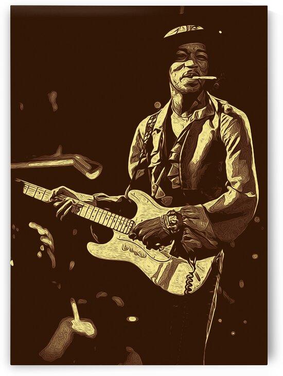 The Jimi Hendrix Experience Vintage Moments 3 by RANGGA OZI