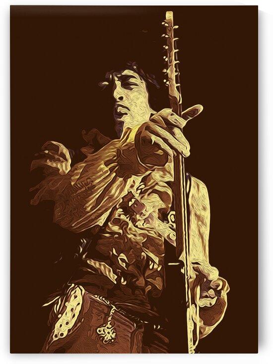 The Jimi Hendrix Experience Vintage Moments 6 by RANGGA OZI