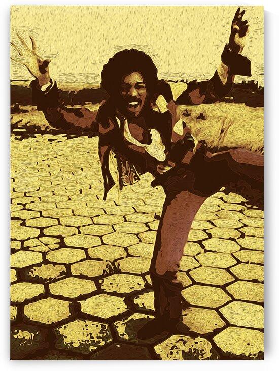 The Jimi Hendrix Experience Vintage Moments 5 by RANGGA OZI