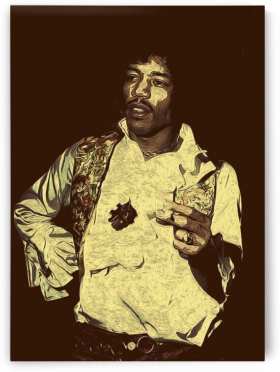 The Jimi Hendrix Experience Vintage Moments 19 by RANGGA OZI