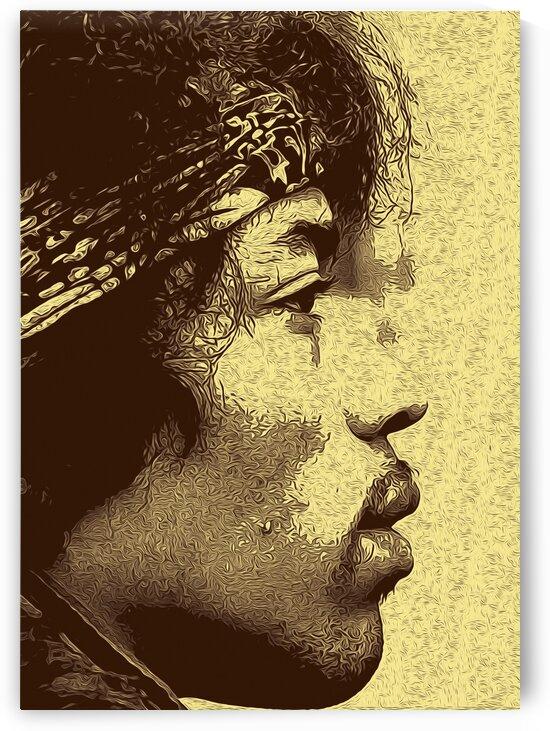 The Jimi Hendrix Experience Vintage Moments 20 by RANGGA OZI