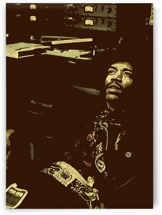 The Jimi Hendrix Experience Vintage Moments 14 by RANGGA OZI