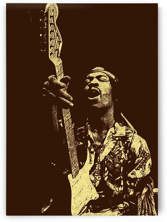 The Jimi Hendrix Experience Vintage Moments 18 by RANGGA OZI