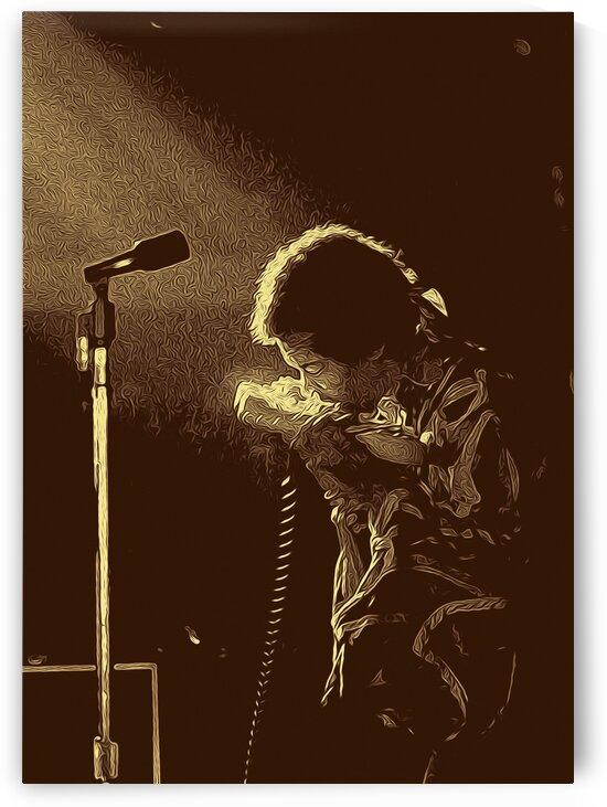 The Jimi Hendrix Experience Vintage Moments 13 by RANGGA OZI