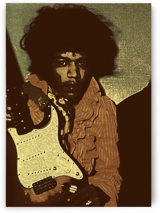 The Jimi Hendrix Experience Vintage Moments 17 by RANGGA OZI