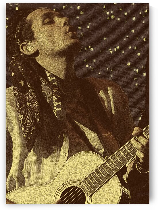 John Mayer Vintage Photo Art 12 by RANGGA OZI