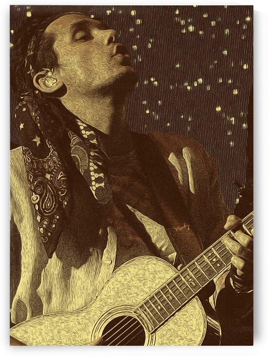 John Mayer Vintage Photo Art 12 by RANGGA OZI