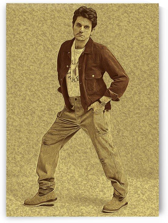 John Mayer Vintage Photo Art 21 by RANGGA OZI