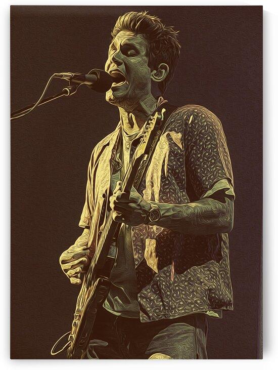 John Mayer Vintage Photo Art 27 by RANGGA OZI