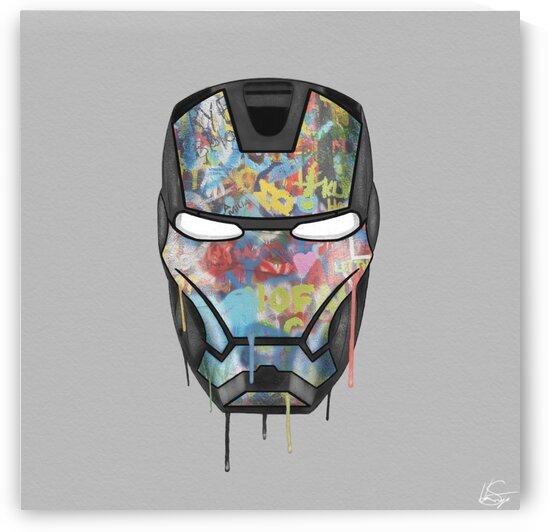 Graffiti Iron Man  by  vincentsantiago