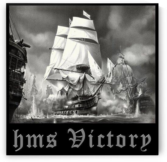 HMS VICTORY by Miro Gradinscak